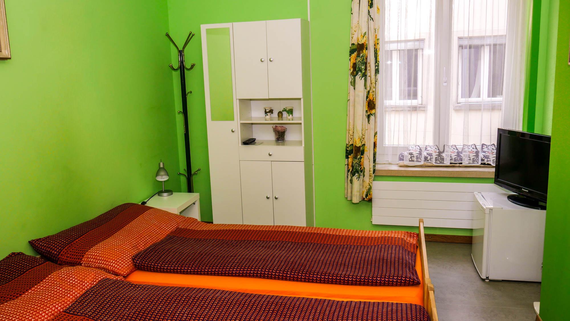 Zweibettzimmer Bad Federnhut
